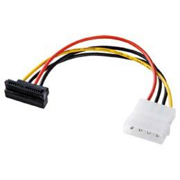 シリアルATA用電源変換ケーブル下L型コネクタTK-PWSATA5SL サンワサプライ(代引き不可) P12Sep14
