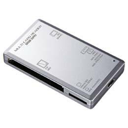 USB2.0カードリーダーADR-ML1SV サンワサプライ(代引き不可) P12Sep14