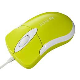 光学式マウスscenefit(グリーン、USB)MA-SFHG サンワサプライ(代引き不可) P12Sep14