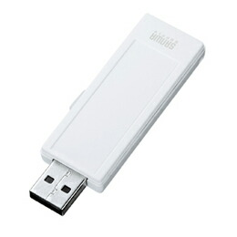 USB2.0メモリ(2G、手書き可能)UFD-RNS2GW サンワサプライ(代引き不可) P12Sep14