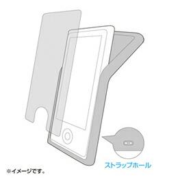 サンワサプライ シリコンケース(iPodnano第7世代用) PDA-IPOD71BK(代引き不可) P12Sep14