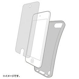 サンワサプライ TPUソフトケース(iPodtouch第5世代用) PDA-IPOD61BK(代引き不可) P12Sep14