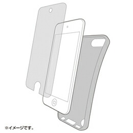 サンワサプライ TPUソフトケース(iPodtouch第5世代用) PDA-IPOD61CL(代引き不可) P12Sep14