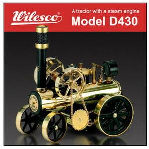 蒸気エンジン付きトラクター「Model D430」 P12Sep14