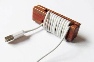 コードロール おしゃれ 木 木温 ウッドコードラップMKL-C2M・MKL-C2W P12Sep14