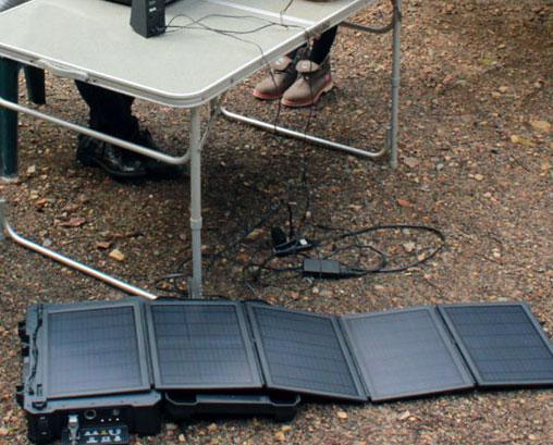 ポータブルソーラーパワーシステム バッテリー TI-SP350B ソーラーパネル充電器 太陽光発電システム ソーラー充電器 大型充電器(代引き不可) P12Sep14