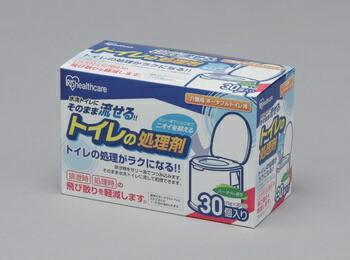 アイリスオーヤマ 介護用トイレの処理剤 介護用品 (30包) TPS-30K(代引き不可) P12Sep14