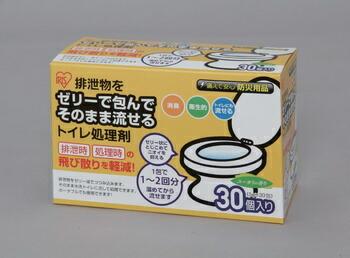 アイリスオーヤマ 防災用トイレの処理剤 介護用品 (30包) TPS-30B(代引き不可) P12Sep14