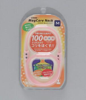 アイリスオーヤマ マグケア ネック  M 健康器具 クリアピンク(代引き不可) P12Sep14