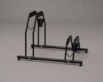 アイリスオーヤマ 自転車スタンド 自転車関連用品 ブラック BYS-2(代引き不可) P12Sep14