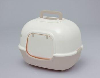 アイリスオーヤマ 脱臭ワイド猫トイレ WNT-510 トイレ ミルキーブラウンWNT-510(代引き不可) P12Sep14
