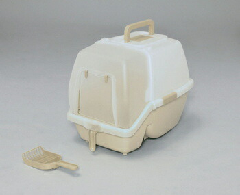 アイリスオーヤマ 掃除のしやすいネコトイレ SSN-530 トイレ ミルキーブラウンSSN-530(代引き不可) P12Sep14