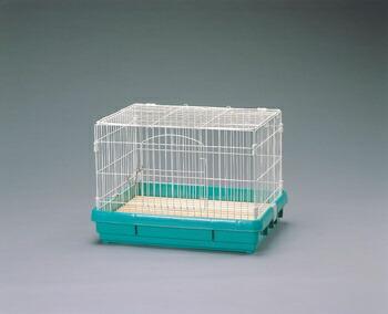 アイリスオーヤマ ラビットケージ UK-650 小動物用品 パステルグリーンUK-650(代引き不可) P12Sep14