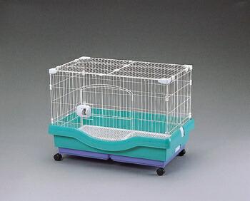 アイリスオーヤマ 小動物快適ケージ RU-800 小動物用品 パステルグリーンRU-800(代引き不可) P12Sep14