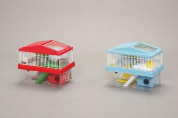 アイリスオーヤマ ハムスターケージ HCK-360 小動物用品 ライトブルーHCK-360(代引き不可) P12Sep14