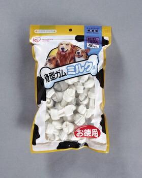 アイリスオーヤマ 骨型ガムミルク味ミニ ガム (40本入)MSG-40SS(代引き不可) P12Sep14