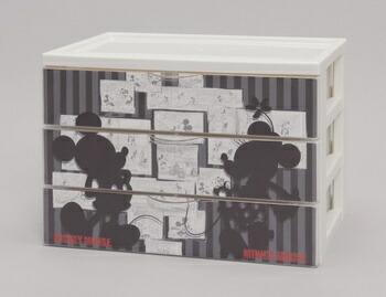アイリスオーヤマ キャラクターデスクチェスト キッズ収納 AミッキーNF CDC-A430(代引き不可) P12Sep14