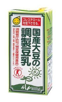 ★★マルサンアイ 国産大豆の調製豆乳 1000ml ※キーワード 1ケース(代引き不可) P12Sep14