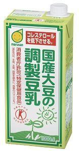 ★★マルサンアイ 国産大豆の調製豆乳 1000ml(3ケース)※キーワード 3ケース(代引き不可) P12Sep14