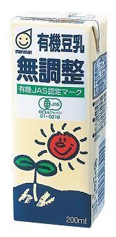 ★★マルサンアイ 有機豆乳 無調整 200ml(2ケース)※キーワード 2ケース(代引き不可) P12Sep14