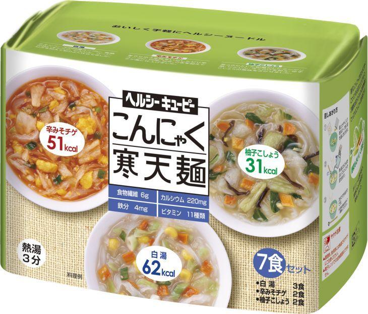 キユーピー ヘルシーキユーピー  こんにゃく寒天麺 7食セット 2個(代引き不可) P12Sep14