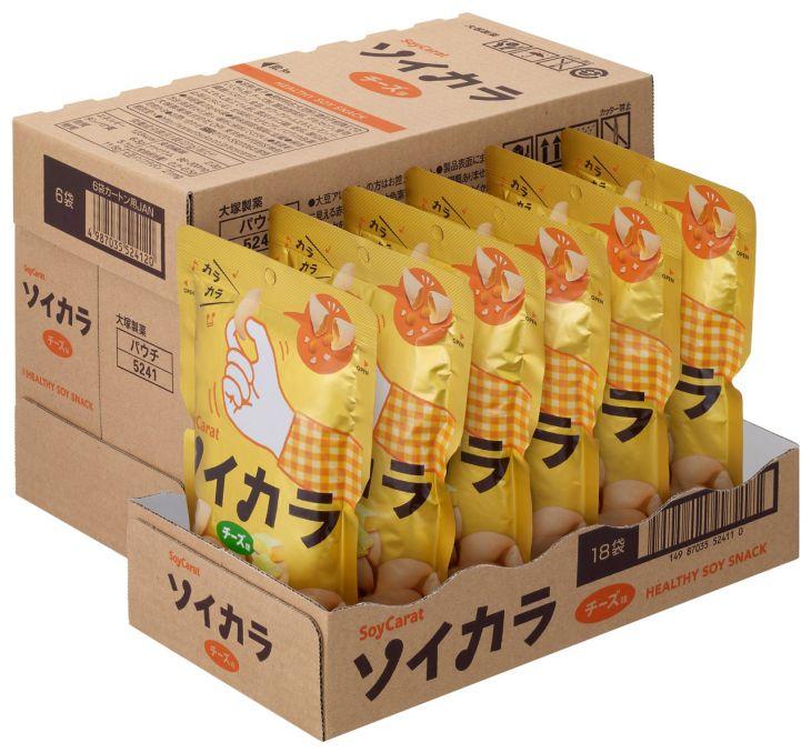 ★★大塚製薬 ソイカラ チーズ味 27g ※キーワード 1ケース(代引き不可) P12Sep14
