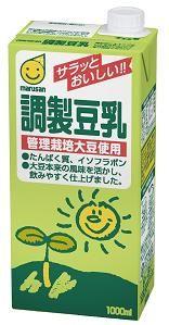 ★★マルサンアイ 調製豆乳 1000ml(2ケース)※キーワード 2ケース(代引き不可) P12Sep14