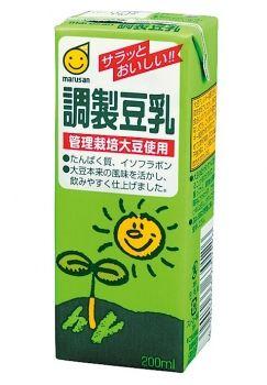 ★★マルサンアイ 調製豆乳 200ml ※キーワード 1ケース(代引き不可) P12Sep14