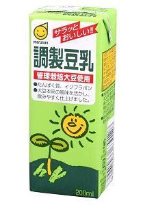 ★★マルサンアイ 調製豆乳 200ml(2ケース)※キーワード 2ケース(代引き不可) P12Sep14
