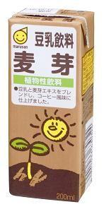 ★★マルサンアイ 麦芽豆乳 200ml ※キーワード 1ケース(代引き不可) P12Sep14