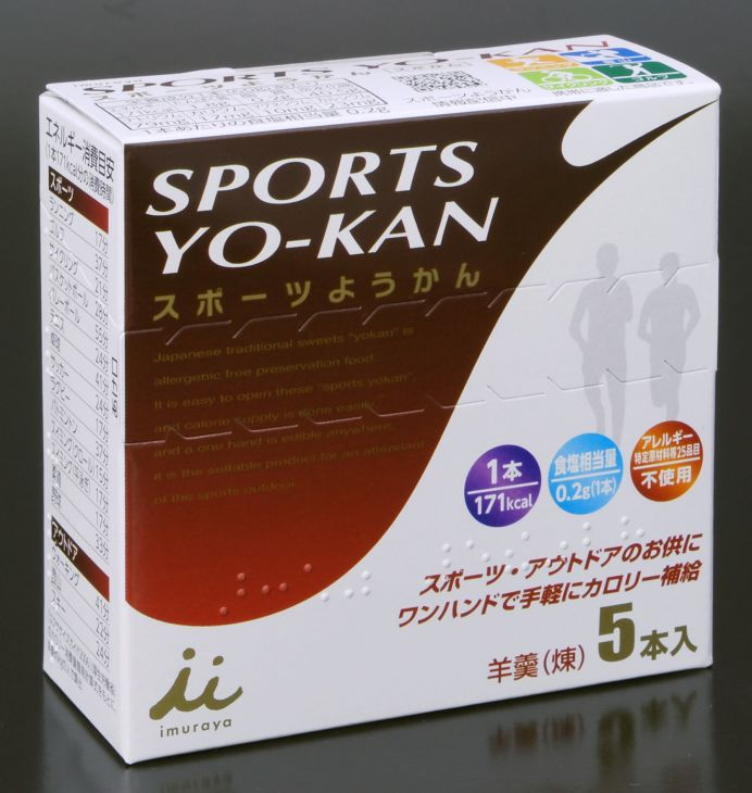 ★★井村屋 スポーツようかん5本入り 1(代引き不可) P12Sep14