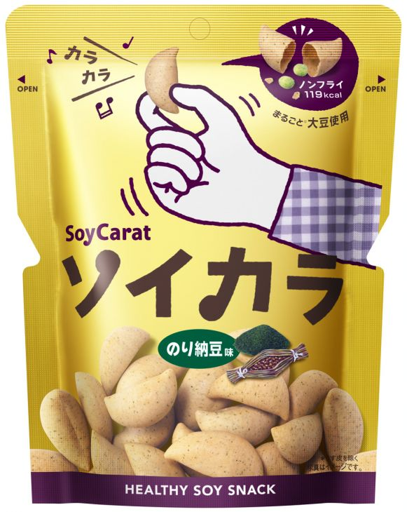 ★★大塚製薬 ソイカラ のり納豆味 27g ※キーワード 1ケース(代引き不可) P12Sep14