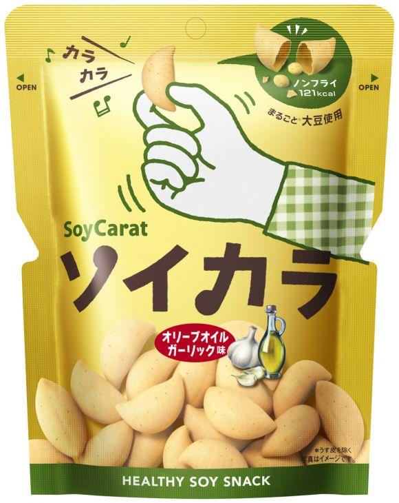 ★★大塚製薬 ソイカラ オリーブオイルガーリック味 27g ※キーワード 1ケース(代引き不可) P12Sep14