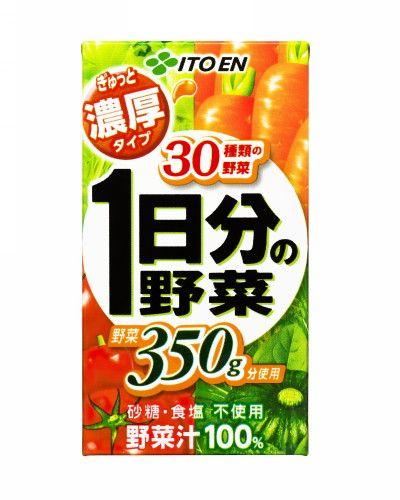 伊藤園 紙パック ぎゅっと濃厚 一日分の野菜 125ml(1ケース) 1ケース(代引き不可) P12Sep14