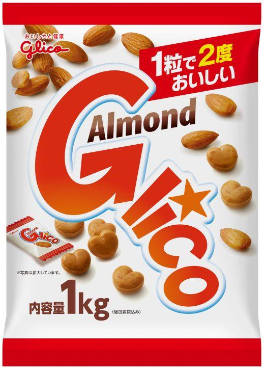 グリコ ポケセレ アーモンドグリコ 1kg 1ケース(代引き不可) P12Sep14