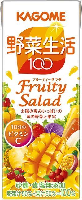 カゴメ  野菜生活100フルーティーサラダ 200ml 1ケース(代引き不可) P12Sep14