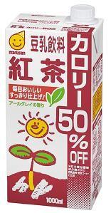 マルサンアイ 豆乳飲料紅茶カロリー50%オフ 1000ml(3ケース) 3ケース(代引き不可) P12Sep14