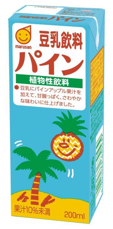 マルサンアイ 豆乳飲料パイン   200ml(3ケース) 3ケース(代引き不可) P12Sep14