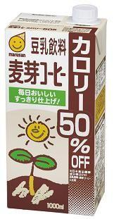 マルサンアイ 豆乳飲料麦芽コーヒー カロリー50%オフ 1000ml(2ケース) 2ケース(代引き不可) P12Sep14