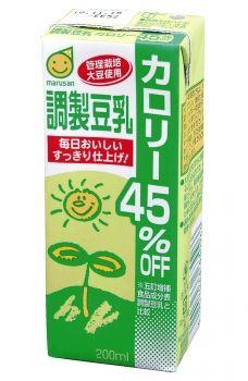 マルサンアイ 調製豆乳カロリー45%オフ 200ml 1ケース(代引き不可) P12Sep14