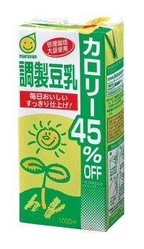 マルサンアイ 調製豆乳 カロリー45%オフ 1000ml(ケース売り) 1ケース(代引き不可) P12Sep14