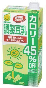マルサンアイ 調製豆乳 カロリー45%オフ 1000ml(3ケース) 3ケース(代引き不可) P12Sep14