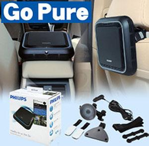 フィリップス 自動車用空気清浄機 Philips GoPure フィリップス ゴーピュア P12Sep14