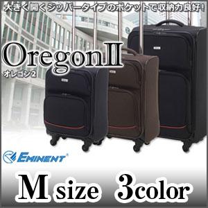 メーカー直送 EMINENT エミネント オレゴン2 ポリエステル製4輪ソフトキャリー Mサイズ(46cm) P12Sep14