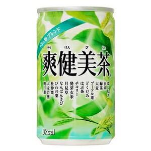 コカ・コーラ 爽健美茶 160ml×30本 1ケース (代引き不可) P12Sep14