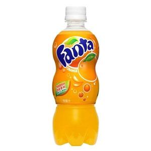 コカ・コーラ ファンタ オレンジ ペット 500ml×24本 1ケース (代引き不可) P12Sep14