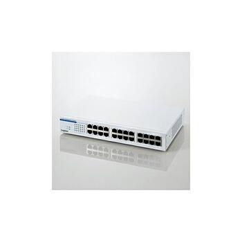 [Logitec ] 24ポートスイッチングハブ LAN-SW24P/HGW P12Sep14