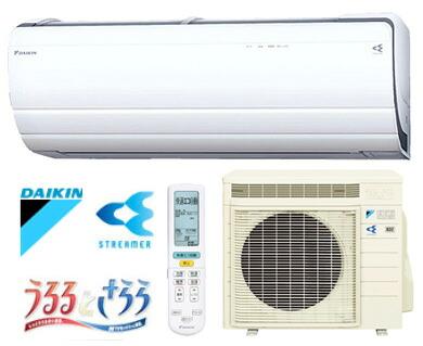 DAIKIN/ダイキン ルームエアコン うるさら7  14畳用 4.0kW  ホワイト 室内電源タイプ (代引き不可) P12Sep14