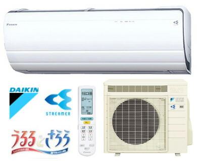 DAIKIN/ダイキン ルームエアコン うるさら7  26畳用 8.0kW  ホワイト 室外電源タイプ (代引き不可) P12Sep14