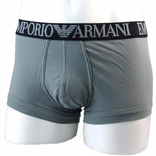 EMPORIO ARMANI(エンポリオ アルマーニ) メンズアンダーウェア  2A540-111866 カラー:02843(GREY) ボクサーパンツ 2a540x111866x2843  P12Sep14